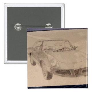 Alfa - CricketDiane Art Drawing Car Buttons