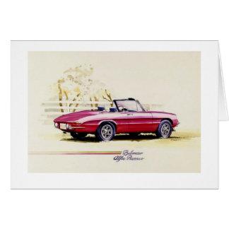 Alfa Romeo Card