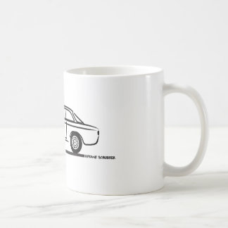 Alfa Romeo GTA GTV T-Shirt Coffee Mug