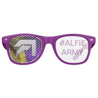 Alfie Paynter #ALFUE ARMY  Sun shadex Retro Sunglasses