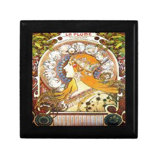 Alfons Mucha 1896 Zodiac Gift Box