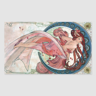 Alfons Mucha 1898 Dance Sticker
