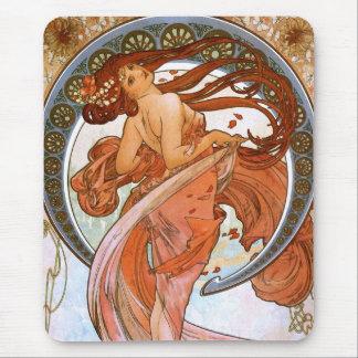 Alfons Mucha: Dance Mouse Pad