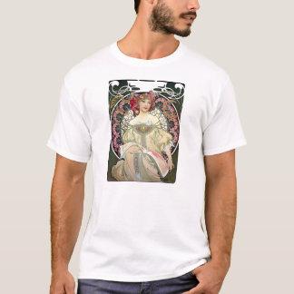 Alfons Mucha Reverie 1897 T-Shirt