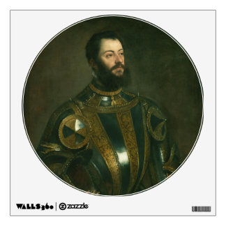 Alfonso d'Avalos Marquis of Vasto by Titian 1533 Wall Sticker