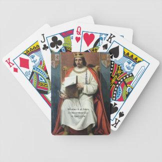Alfonso x el Sabio Bicycle Playing Cards