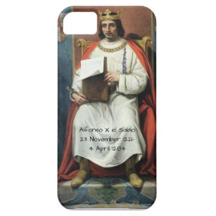 Alfonso x el Sabio Case For The iPhone 5