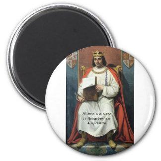 Alfonso x el Sabio Magnet