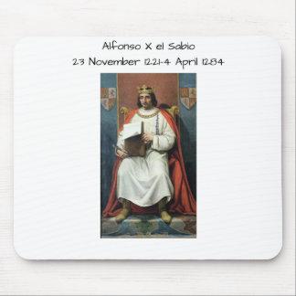 Alfonso x el Sabio Mouse Pad