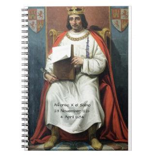 Alfonso x el Sabio Notebook