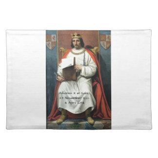 Alfonso x el Sabio Placemat