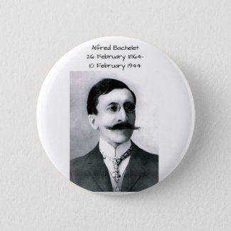 Alfred Bachelet 2 Inch Round Button