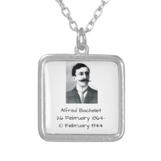 Alfred Bachelet Silver Plated Necklace