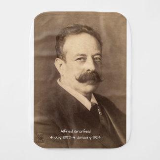 Alfred Grunfeld Burp Cloth