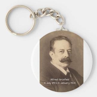 Alfred Grunfeld Keychain
