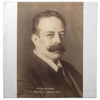Alfred Grunfeld Napkin