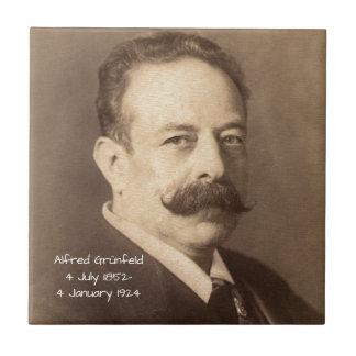 Alfred Grunfeld Tile