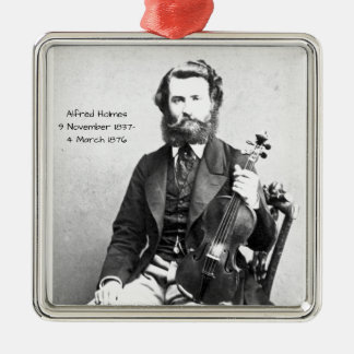 Alfred Holmes Metal Ornament