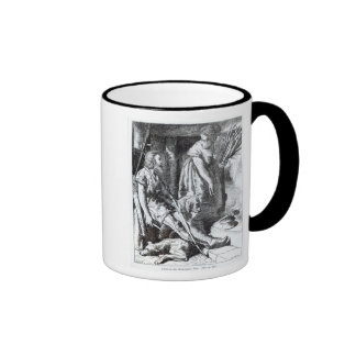 Alfred  in the Neat-herd's hut Coffee Mugs