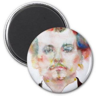 alfred jarry - watercolor portrait.1 magnet