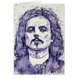 alfred jarry - watercolor portrait.2 card