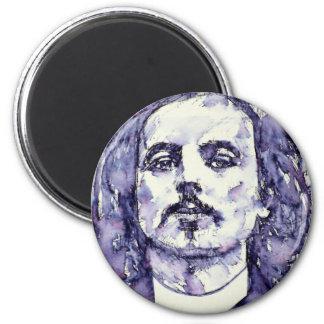 alfred jarry - watercolor portrait.2 magnet