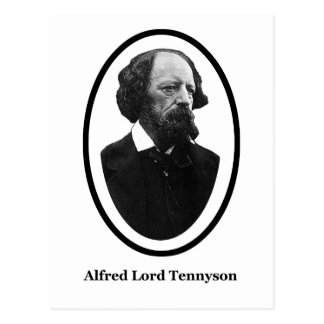 Alfred Lord Tennyson Title The MUSEUM Zazzle Gifts Postcard