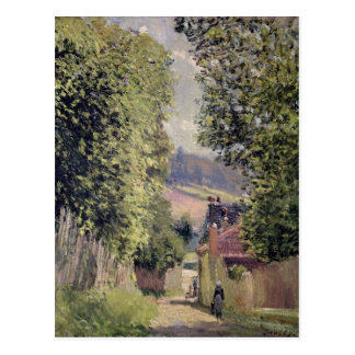 Alfred Sisley | A Road in Louveciennes Postcard
