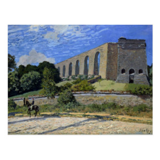 Alfred Sisley - Aqueduct at Marly Postcard