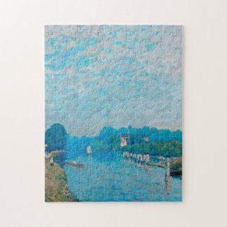 Alfred Sisley - Bords de riviere Orillas Puzzles