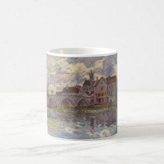 Alfred Sisley - Brücke von Moret-sur-Loing 1885 Classic White Coffee Mug