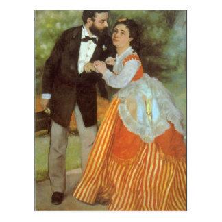 Alfred Sisley by Pierre Renoir Postcard