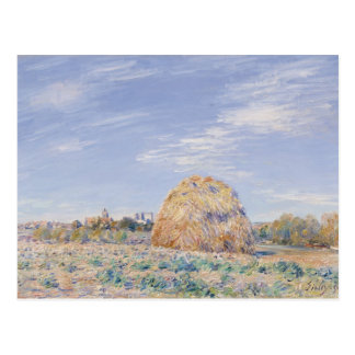 Alfred Sisley | Haystack on the Banks of the Loing Postcard