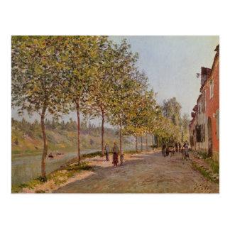 Alfred Sisley | June Morning in Saint-Mammes Postcard