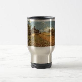 Alfred Sisley Kornfeld 1873 - Cornfield Oil 15 Oz Stainless Steel Travel Mug