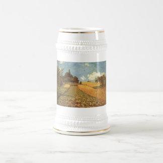 Alfred Sisley Kornfeld 1873 - Cornfield Oil 18 Oz Beer Stein