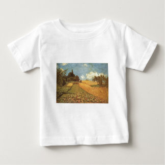 Alfred Sisley Kornfeld 1873 - Cornfield Oil Baby T-Shirt
