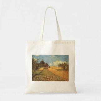 Alfred Sisley Kornfeld 1873 - Cornfield Oil Budget Tote Bag