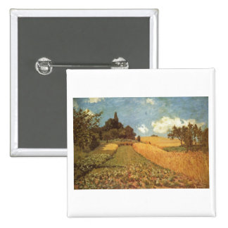 Alfred Sisley Kornfeld 1873 - Cornfield Oil Pin