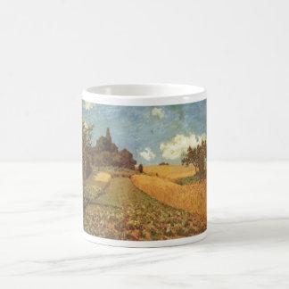 Alfred Sisley Kornfeld 1873 - Cornfield Oil Classic White Coffee Mug