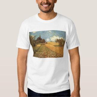 Alfred Sisley Kornfeld 1873 - Cornfield Oil Shirts