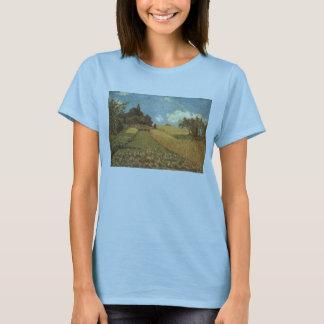 Alfred Sisley Kornfeld 1873 - Cornfield Oil T-Shirt