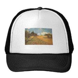 Alfred Sisley Kornfeld 1873 - Cornfield Oil Trucker Hat