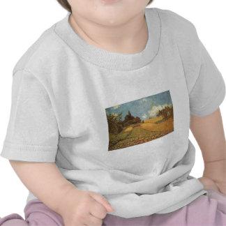 Alfred Sisley Kornfeld 1873 - Cornfield Oil T Shirt