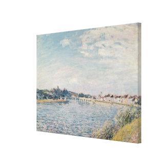 Alfred Sisley | Landscape Canvas Print