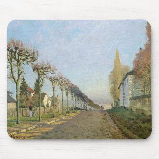 Alfred Sisley | Rue de la Machine, Louveciennes Mouse Pad