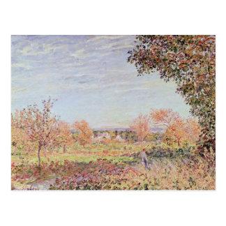 Alfred Sisley | September Morning Postcard