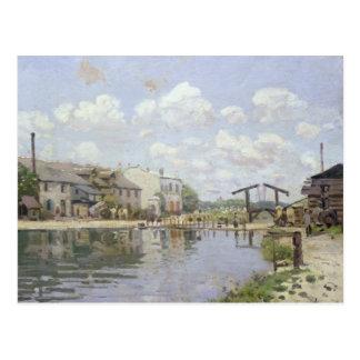 Alfred Sisley | The Canal Saint-Martin, Paris Postcard