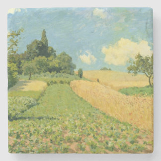 Alfred Sisley | The Cornfield Stone Coaster