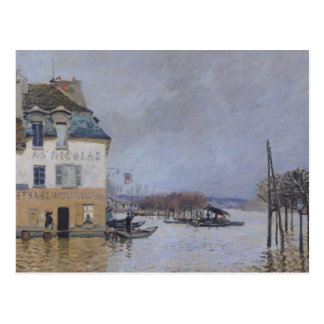Alfred Sisley | The Flood at Port-Marly Postcard